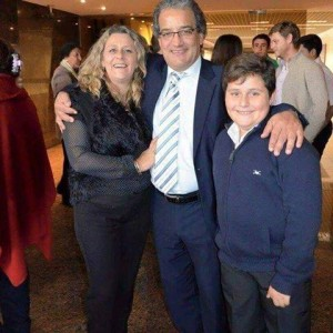 José Carlos y familia