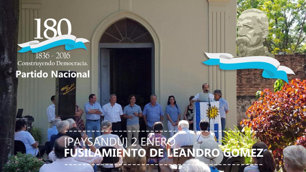 Homenaje a Leandro Gómez