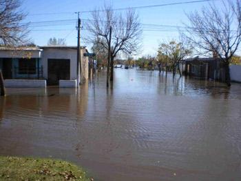 Inundaciones en todo el Uruguay