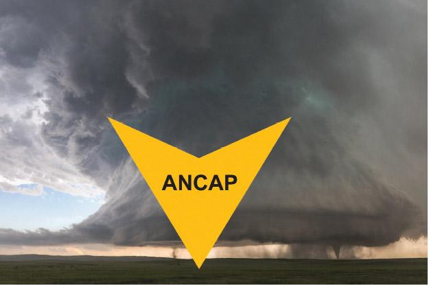 Ancap: peor que los desastres meteorológicos.