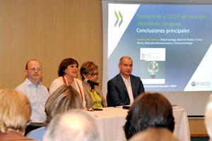 OCDE presentó preocupante informe sobre la educación en el Uruguay