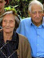 Rosita De Los Santos con Carlos Julio