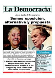 Tapa de La Democracia del 27 de abril de 2007