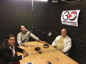 El programa del Partido Nacional con la conducción de Aníbal Steffen, Vicky Vera y Andrés Etcheverry por RADIO NACIONAL, Uruguay