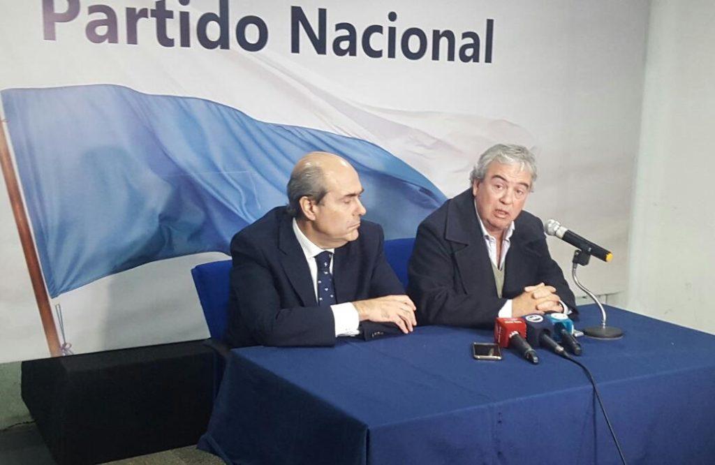 Luis Alberto Heber y Pablo Abdala