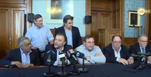 Conferencia de prensa Partido Nacional